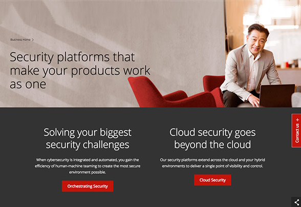 McAfee provides security for all devices